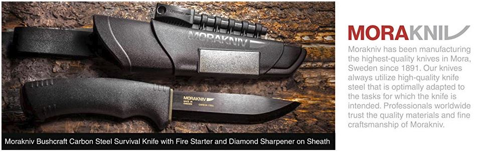 Morakniv Mora Bushcraft Survival knife