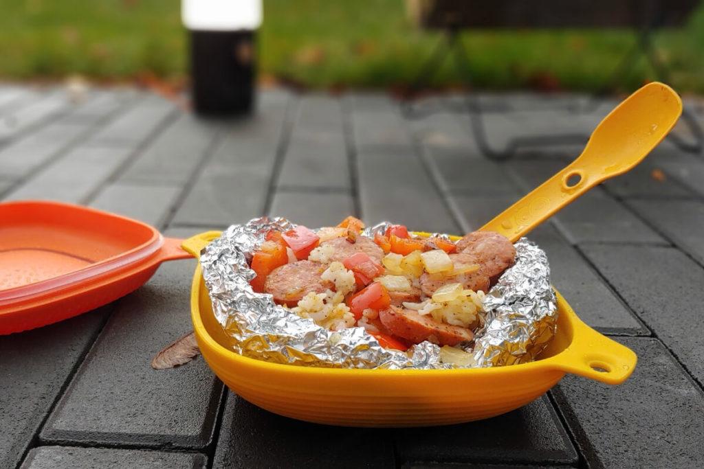Paella Plated