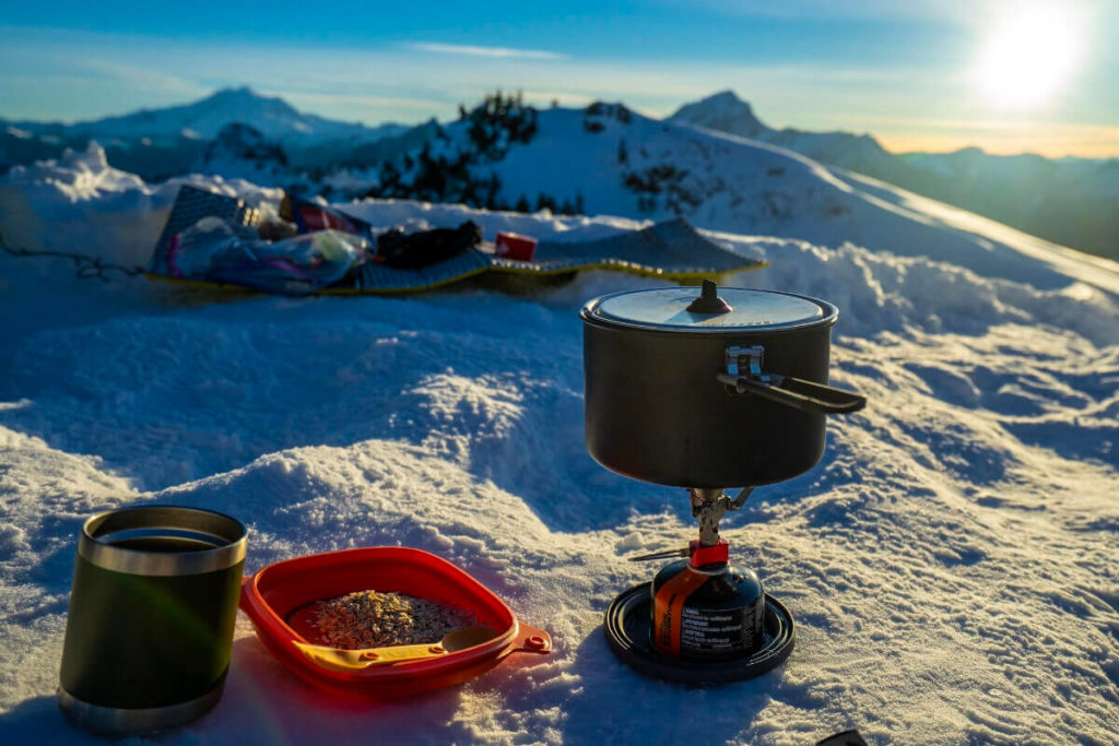 Camping Mess Kit and spork Uco