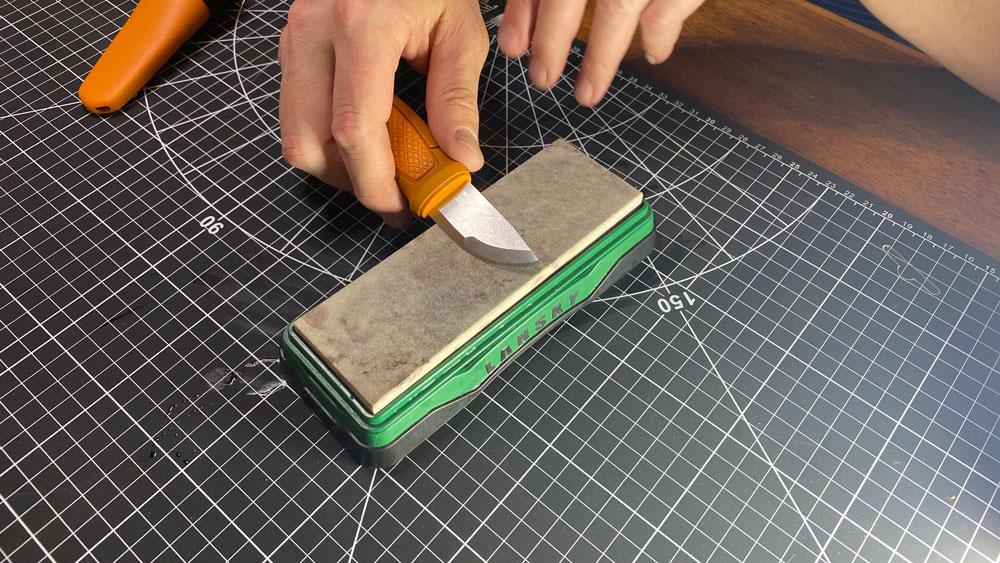 sharpening Morakniv knives
